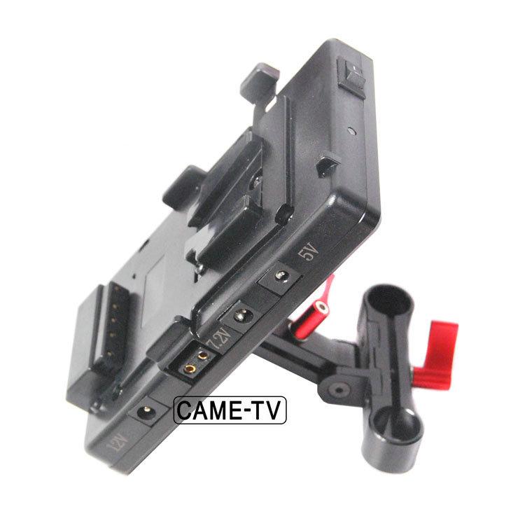 CAME-TV VM02 V-Mount Battery Plate
