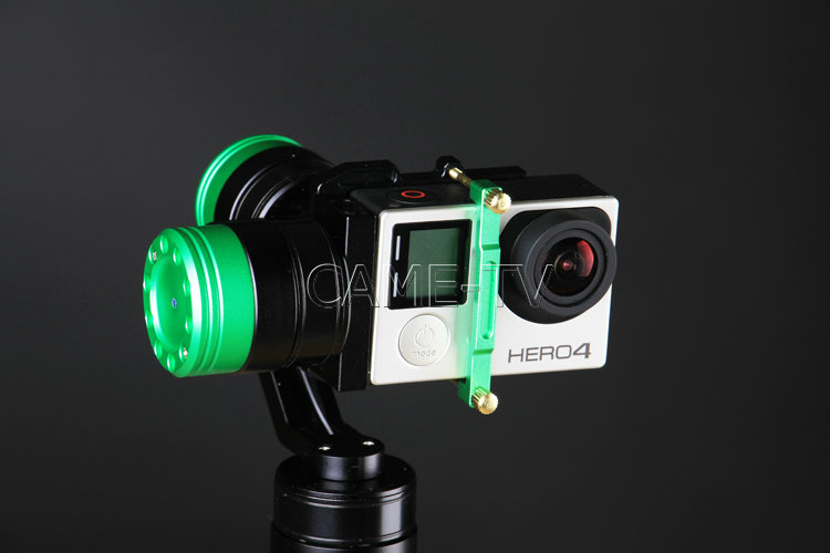 came-action gimbal for gopro and xiaomi action cameras