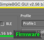 How do I know what version software to use with my gimbal?