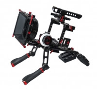 CAME-TV DSLR Cage W/ Hand Grip For GH4 & SONY A7s & 5D Mark III