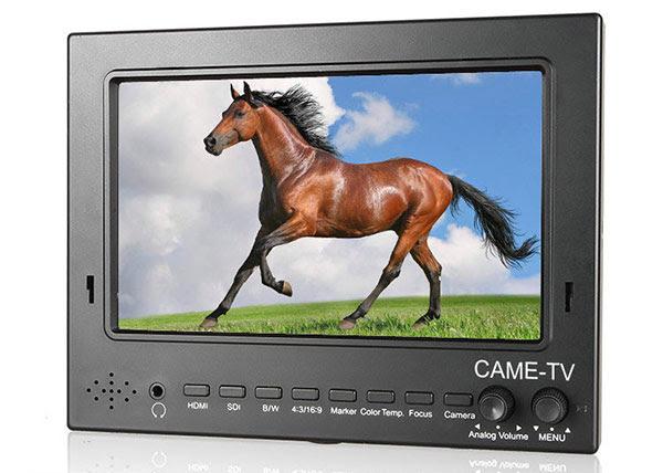 """CAME-TV 7"""" 1024*600 HDMI SDI Pro-Broadcast HD Monitor 702-SDI"""