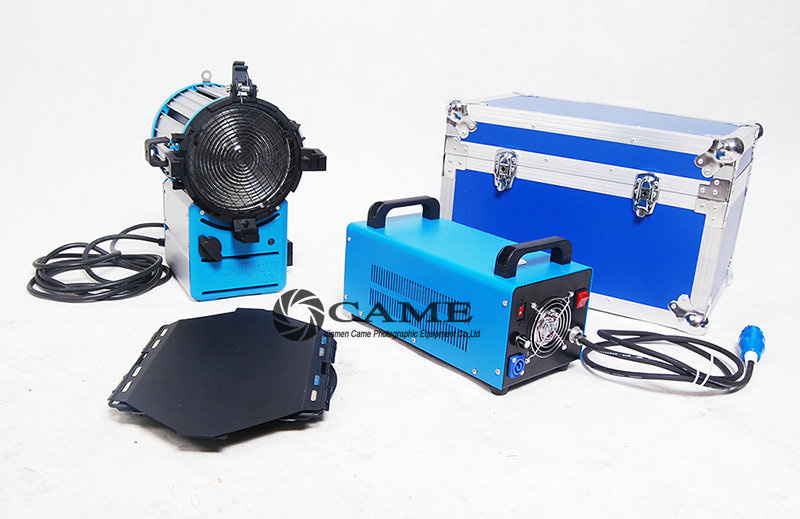 http://www.came-tv.com/hmi-fresneHMI Fresnel Light 1200W Electronic Ballast+Dimmable+ Free Case
