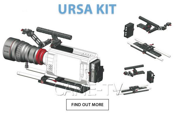 CAME-TV Rig For BlackMagic URSA Kit