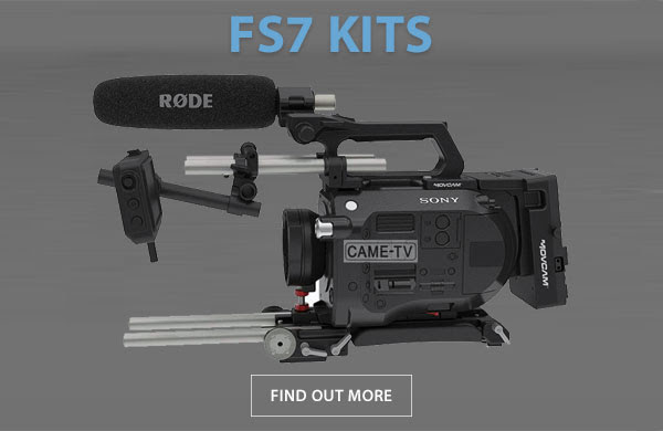 CAME-TV Rig For Sony FS7