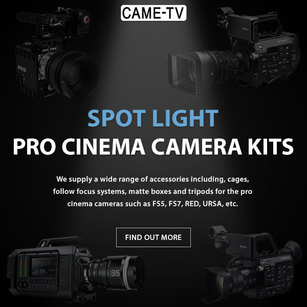 CAME-TV Pro Cinema Camera Kits