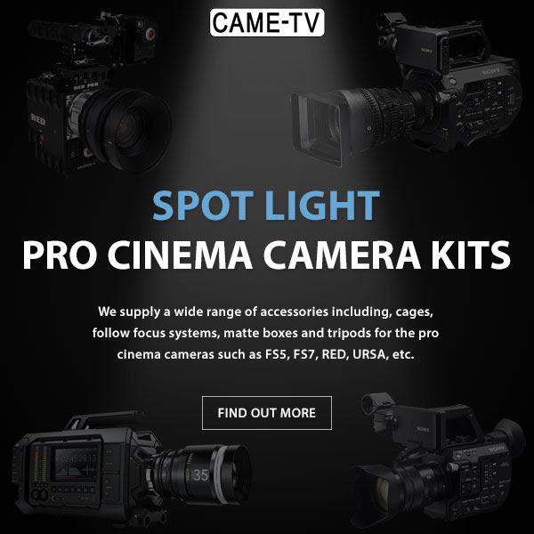 CAME-TV Pro Cinema Camera Kits