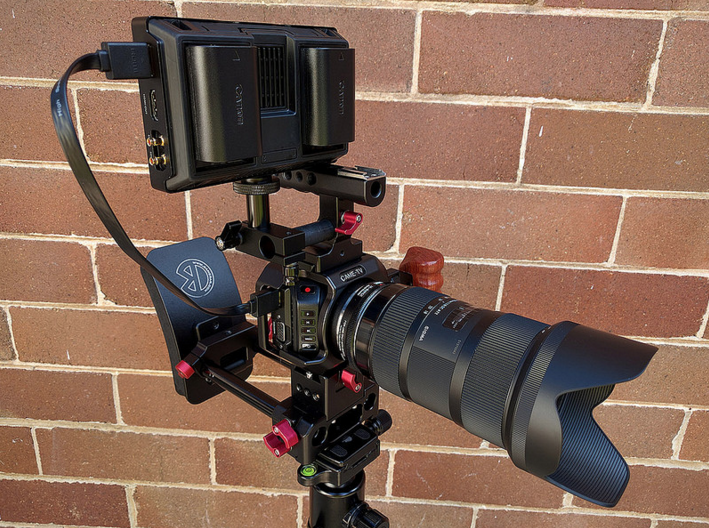 CAME-TV Blackmagic Micro Cinema Camera Cage With BMMCC