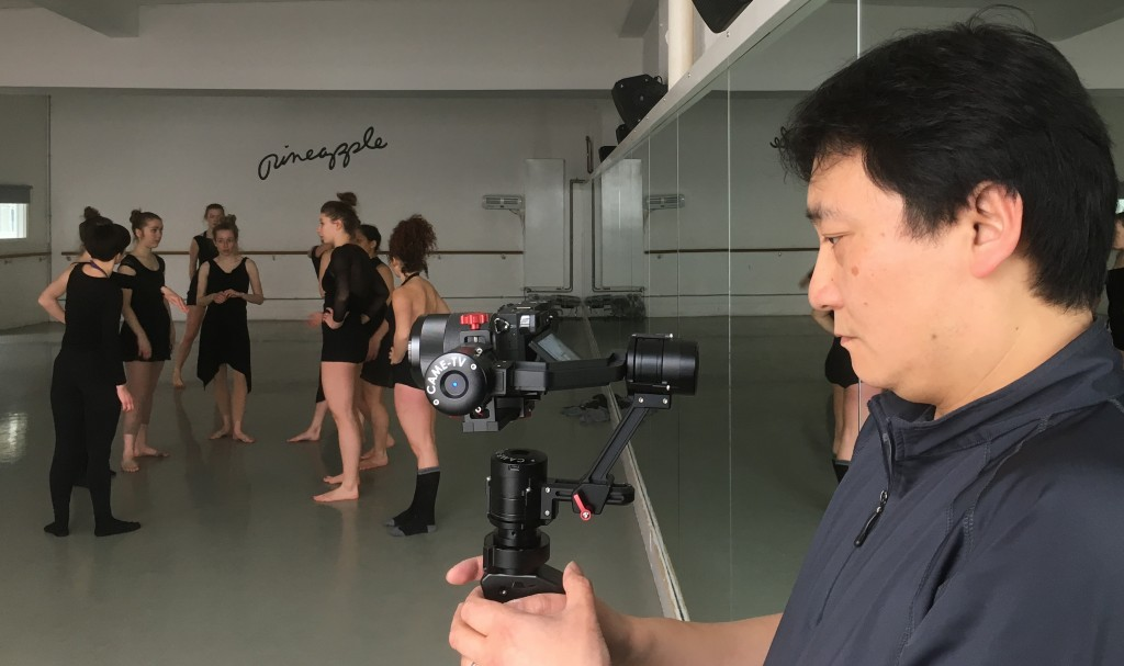 Sony a6300 with CAME-TV Single Gimbal