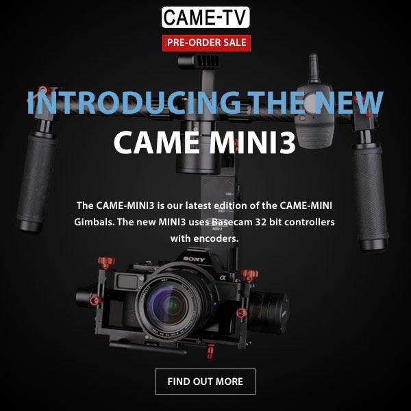 CAME-TV Mini 3 3-Axis Gimbal