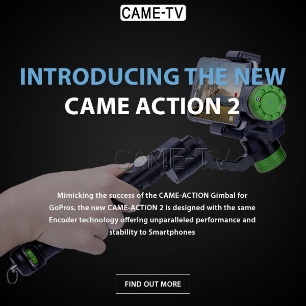 CAME-TV ACTION 2 Smartphone Gimbal