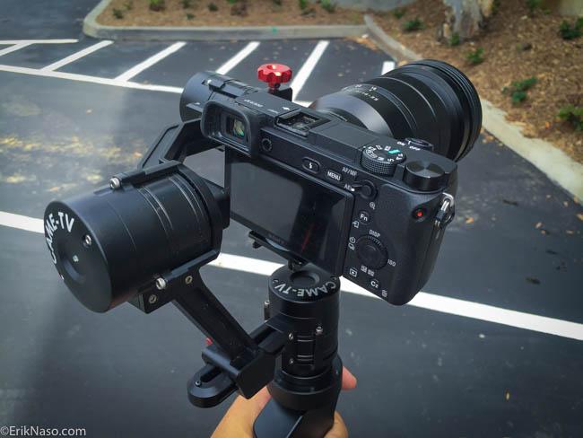 CAME-TV Single Sony a6300 16-35mm lens