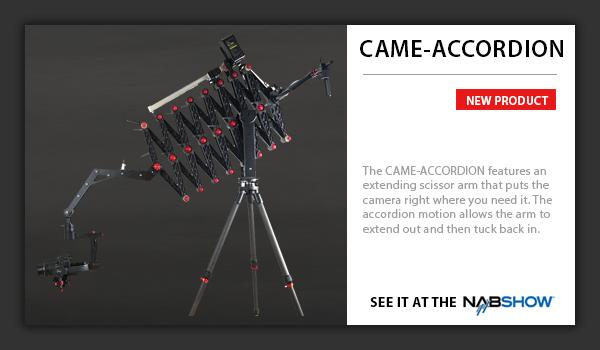CAME-TV Accordion Jib
