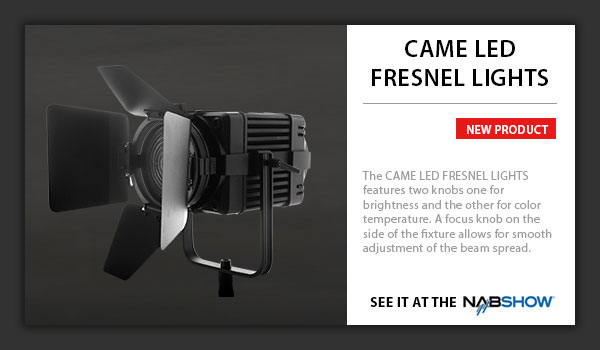 CAME-LED Fresnel Lights