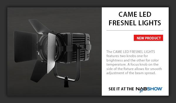 CAME-LED Fresnel Lights