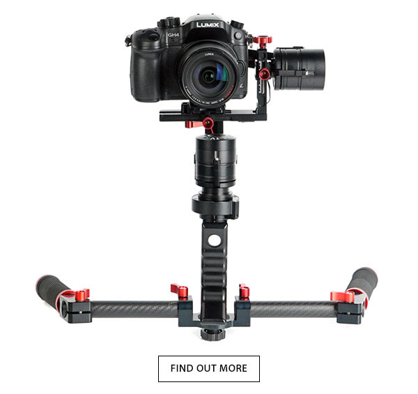 CAME-TV Single Gimbal With Dual Handles