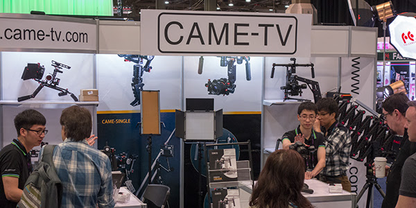 CAME-TV NAB 2016 Show Booth