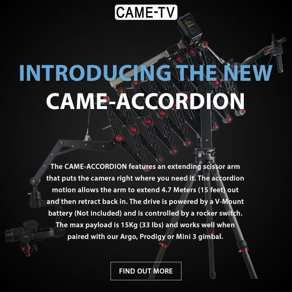 CAME-TV Accordion Jib