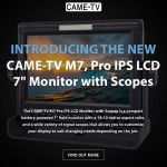 Introducing The New CAME-TV M7 Pro IPS LCD 7″ Monitor!