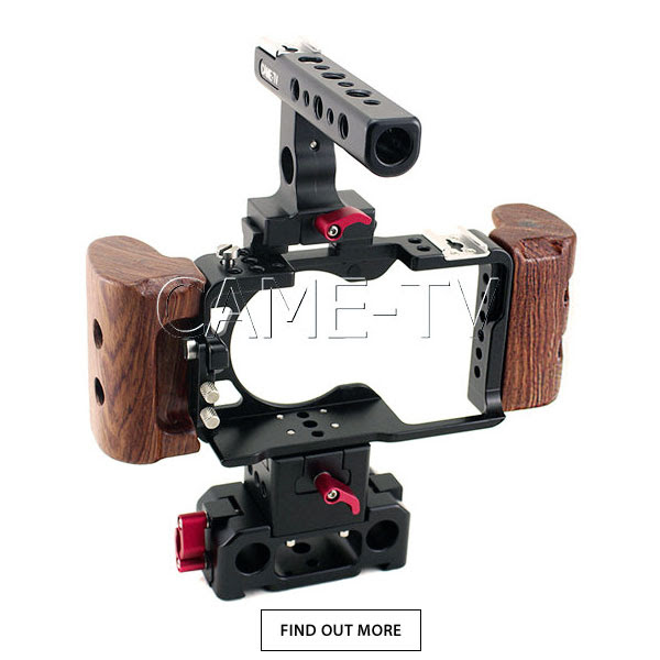 CAME-TV Sony a6300 Camera Cage