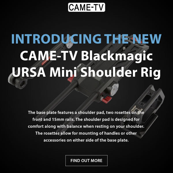 CAME-TV Blackmagic Ursa Mini Shoulder Rig