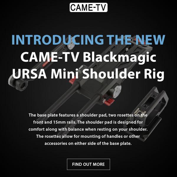 CAME-TV Blackmagic Ursa Mini Shoulder Rig