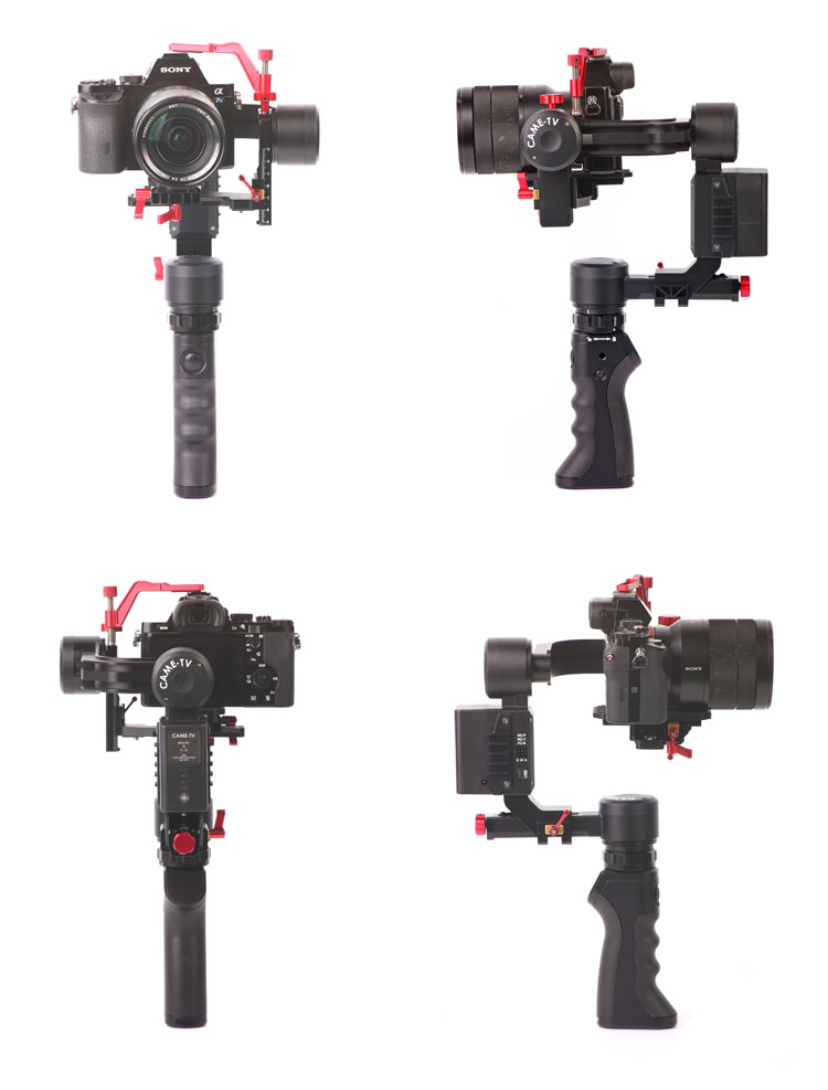 CAME-OPTIMUS 3 Axis Gimbal Camera 32bit Boards With Encoders