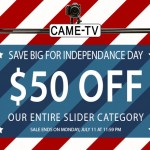 Independence Day Sale! $50 Off Our Entire Slider Category!