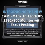 Introducing The New CAME-TV MT02 10.1 Inch IPS Monitor!