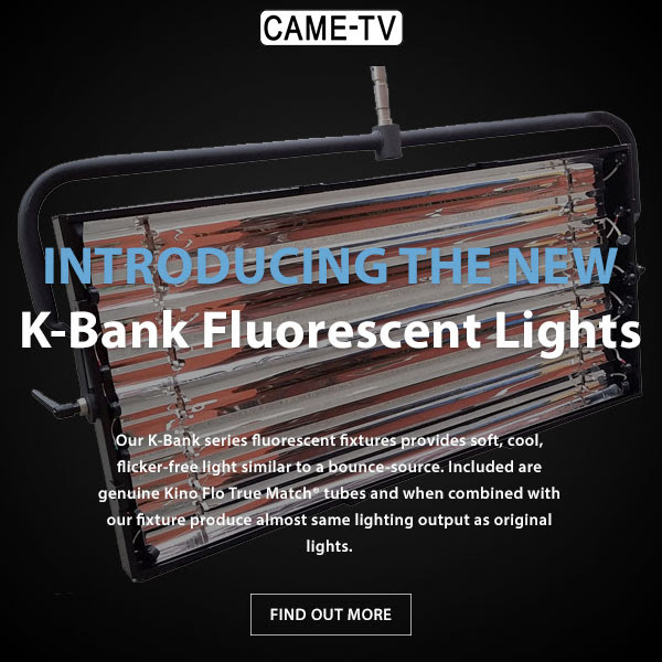 CAME-TV K-Bank Fluorescent Lights