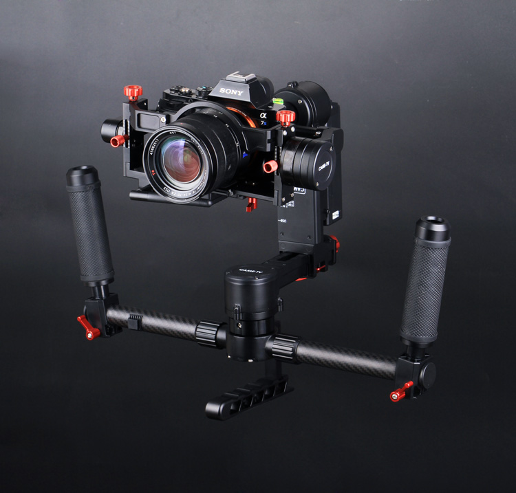 CAME-TV Mini 3 3-Axis Gimbal Camera 32bit Boards With Encoders