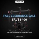 CAME-TV – Fall Clearance Sale Mini 2!