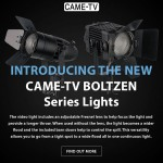New CAME-TV Boltzen Series Lights!