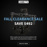 CAME-TV – Fall Clearance Sale 7500 Gimbal