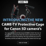 Introducing The New CAME-TV Protective Cage For Canon 5D Cameras!