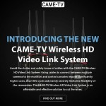Introducing The New CAME-TV Wireless HD Video Link System!