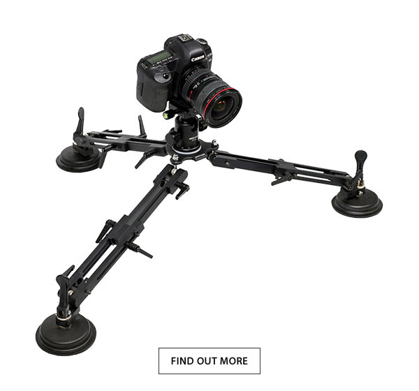came-tv video suction cup car mount