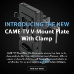 Introducing The New CAME-TV  V-Mount Plate With Clamp!