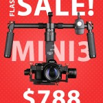 CAME-TV – FLASH SALE! Limited Time – Mini3 Gimbal [Expired]