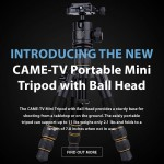 CAME-TV – New Portable Mini Tripod