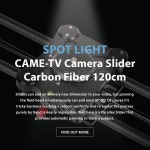 CAME-TV – Spotlight CAME-TV Camera Slider Carbon Fiber