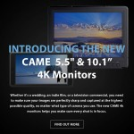 CAME-TV – New Product – CAME 4K Monitors
