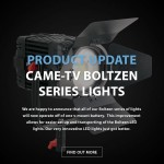 CAME-TV – Update – BOLTZEN LED LIGHTS