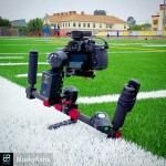 INSTAGRAM: @bluskyfilms using our #Cametv #Optimus #Gimbal paired with the #Panasonic #GH4 on a recent #soccer shoot! #CametvOptimus #OptimusGimbal #optimussnap3 #camegimbalsnap5 #panasonicgh4 #3axisgimbal