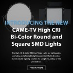 CAME-TV - New High CRI Bi-Color SMD lights