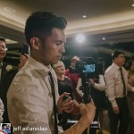 INSTAGRAM: BTS pic of @jeff.estanislao filming a #wedding with the #Cametv #Single #Gimbal and #Sony #a7s! #Camesingle #cametvsingle #sonya7s #singlesnap1 #camegimbalsnap5 #3axisgimbal