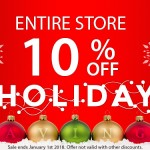 CAME-TV – Holiday Savings 10% Off Everything!