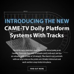 CAME-TV – New Dolly Platform Systems With Track