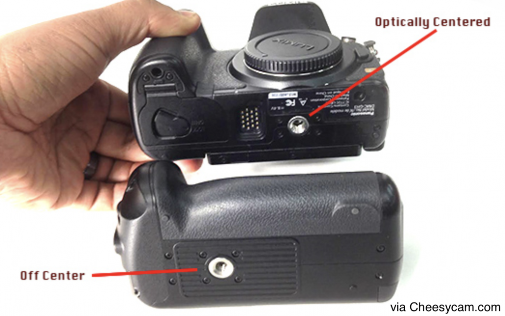 tripod mount positions