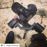 INSTAGRAM: @diogo.caramujo posted this pic of his #Cametv #Single #Gimbal setup he used on a shoot paired w/ the #Sony #A7riii! #CameSingle #SingleGimbal #3axisgimbal #Sonya7riii #a7r3 #camegimbalsnap5 #singlesnap1 #Camegimbal