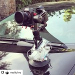 INSTAGRAM: Pretty cool #DIY #CarMount rig that @mattuhry put together with our #Cametv #Optimus #Gimbal! #CameOptimusGimbal #OptimusGimbal #3axisgimbal #Sony #A7siii #SonyA7s3 #SonyA7siii #OptimusGimbal #optimussnap3 #camegimbalsnap5